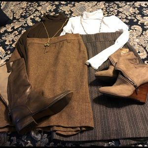Zara Wool skirts